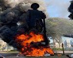 Borba Gato: a estátua de um genocida, estuprador e escravagista que merece arder em chamas
