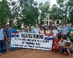 Paraguaios comemoram queda de Stroessner e pressionam Congresso por justiça para Curuguaty
