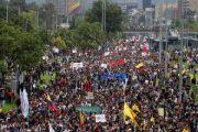 """""""A Colômbia está de pé contra a política de extermínio e terrorismo de Iván Duque"""""""