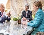 Apoio reticente da Europa a Biden contra a China